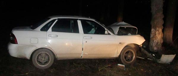 В Беслане в ДТП пострадали четверо подростков, взявшие автомобиль покататься
