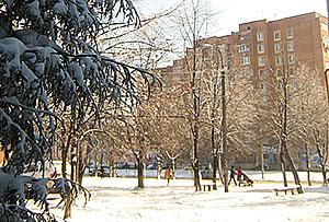 На Владикавказ нахлынул типичный январь