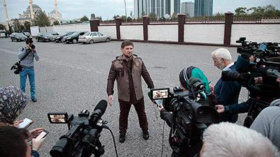 В Грозном набрасывают ответ на карикатуры