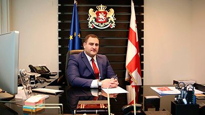 Глава МВД Грузии ушел от греха подальше