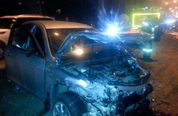 Во Владикавказе после столкновения двух автомобилей «Тойота» погиб один из водителей