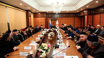 Глава Ингушетии провел встречу с жителями Пригородного района РСО-Алания