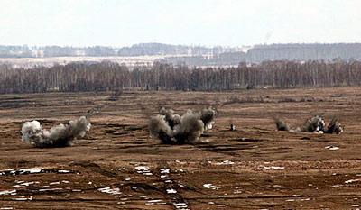 В Южной Осетии проводятся боевые стрельбы с применением новейших модульных комплексов