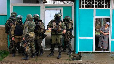 В Северной Осетии поймали Колобка