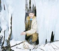 Ледопад – не снегопад, или Зимняя сказка гор
