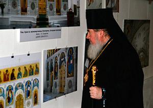 Во Владикавказе открылась выставка современного церковного искусства «Безмолвная проповедь»