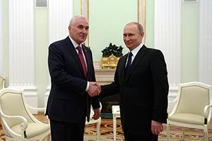 Владимир ПУТИН: «Сделан ещё один важный шаг на пути дальнейшего укрепления партнёрских связей с Южной Осетией»