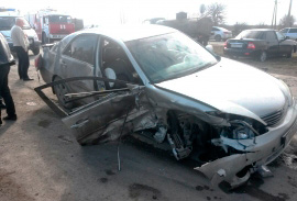 Столкновение «Тойоты» и «Жигулей» привело к госпитализации обоих водителей и двух пассажиров