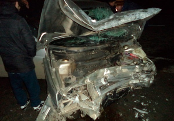 В ДТП на трассе между Владикавказом и Алагиром ранения получили три человека
