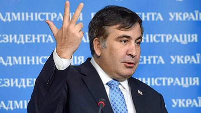 Михаил Саакашвили пожаловался на «каторжный труд» на Украине