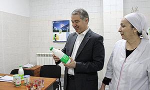 Сергей ДЗАНТИЕВ пообещал поддержать местных производителей молочной продукции