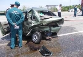 В станице Архонская 39-летний водитель «ВАЗ-21099» въехал в дерево
