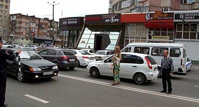 Во Владикавказе за час оштрафовано 15 пешеходов