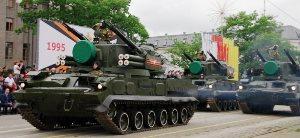 Юбилейным парадом во Владикавказе 58-я армия отметила свое 20-летие