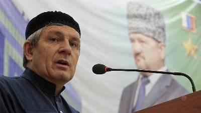 Умер председатель парламента Чечни