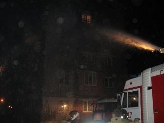 Зажженная свеча, оставленная без присмотра, стала причиной пожара