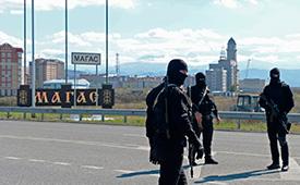 В Ингушетии задержали главу республиканского штаба МВД
