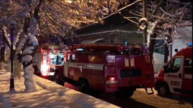 В ночном пожаре во Владикавказе людей искали с помощью тепловизора