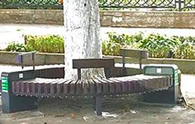«Умные скамейки» во Владикавказе проработали только несколько месяцев