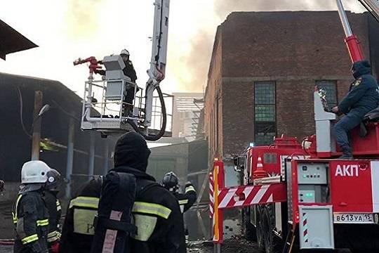 Причиной пожара на заводе «Электроцинк» стал поджог