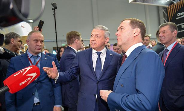 Дмитрий МЕДВЕДЕВ посетил Северную Осетию в …Сочи